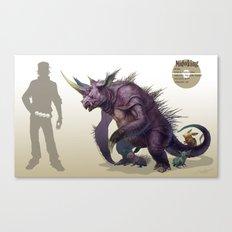 Pokemon-Nidoking Canvas Print