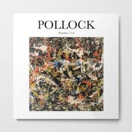 Pollock - Number 17A Metal Print
