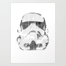 Watermark Stormtrooper Art Print