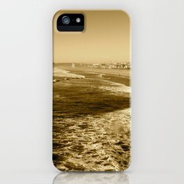 Silent waves iPhone Case