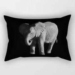 Baby African Elephant Rectangular Pillow
