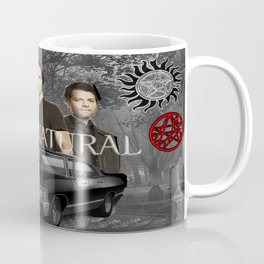 Supernatural the Winchester Boys Coffee Mug