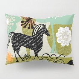 magical horse garden Pillow Sham
