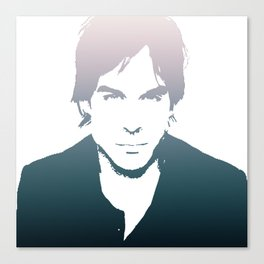 Ian Somerhalder, so cute Canvas Print