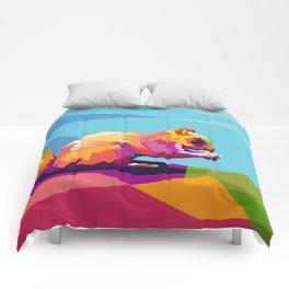 Squirrel Colorfull Comforters