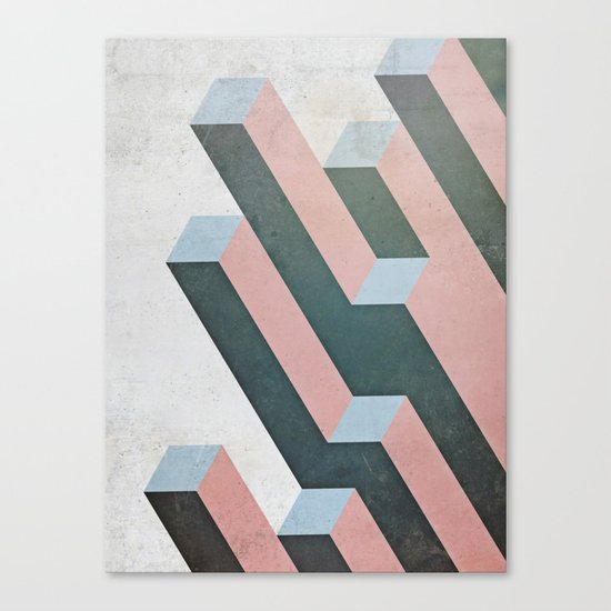 Linear Geometry Canvas Print