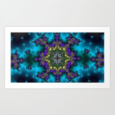 Fractal Abstract 65 Art Print