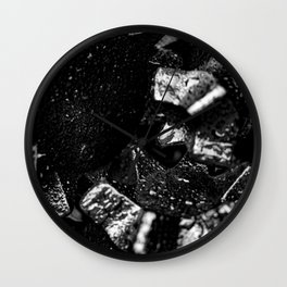Tricone Drill Bit Close-up Wall Clock