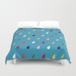 Raindrops Duvet Cover
