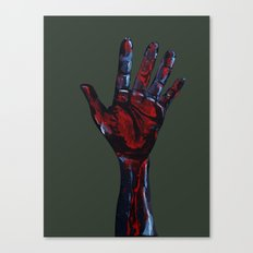 Hand of Death Canvas Print