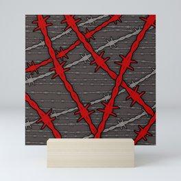 Barbed Mini Art Print