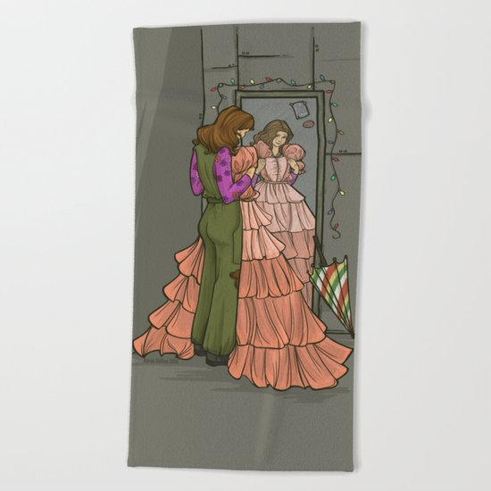 The Shindig Dress Beach Towel