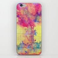 maps iPhone & iPod Skins featuring maps by Emily Tumen