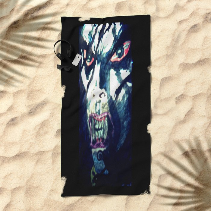 Sensing Blood Beach Towel