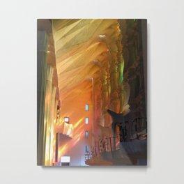 Gaudi, La Sagrada Familia Metal Print