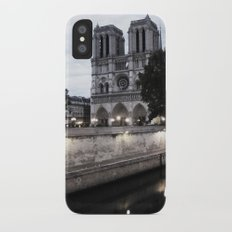 the hunchback of notre dame - seine iPhone X Slim Case