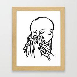 Creep Bouquet Framed Art Print