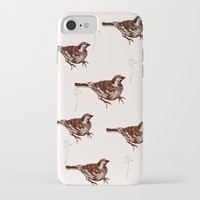 sparrow iPhone & iPod Cases featuring Sparrow by Fine Cut