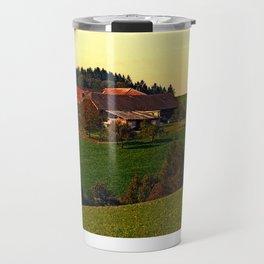 Peaceful autumn scenery | landscape photography Travel Mug