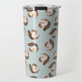 squirrel pattern Travel Mug
