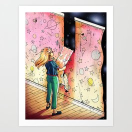 """""""How Much More Can We Learn About the Universe?"""" by Jackie Ferrentino for Nautilus Art Print"""