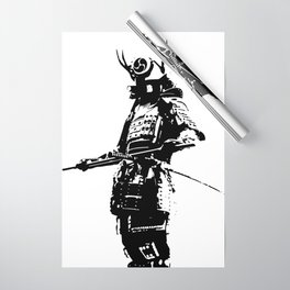Samurai Wrapping Paper