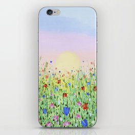Joyful Meadow iPhone Skin