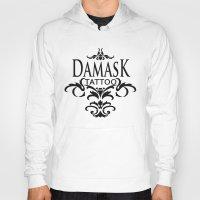 damask Hoodies featuring Damask Tattoo  by Damask Tattoo