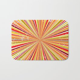 Retro Grunge Background Bath Mat