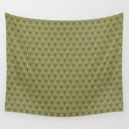 Yellow Apples Pattern Wall Tapestry
