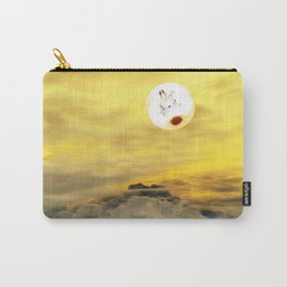 Time Rabbit and Magic Mountain Carry-All Pouch