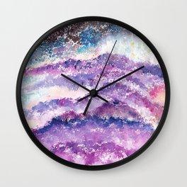 Abstract Whimsical Art Illustration. Wall Clock