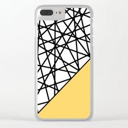 Lazer Dance YY Clear iPhone Case