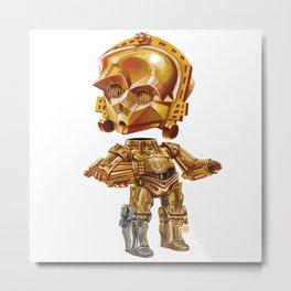 C3PO Metal Print