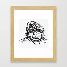 CHEZ BY JOEL Framed Art Print