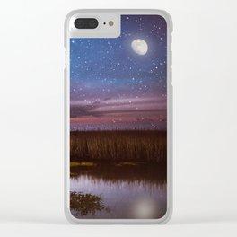 Goodnight, Louisiana Clear iPhone Case