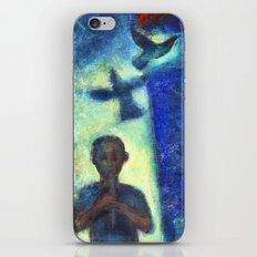 Musician kid. iPhone & iPod Skin