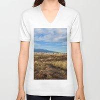 arizona V-neck T-shirts featuring Arizona by Ian Bevington