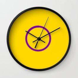 Intersex Pride Wall Clock