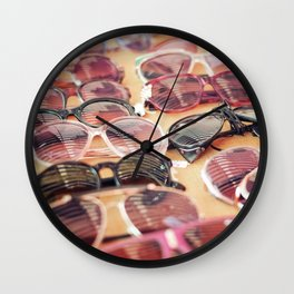 Vintage sunglasses Wall Clock