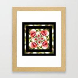 Roses of Romance Framed Art Print