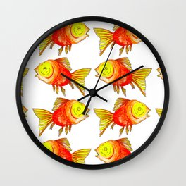 Dumb Goldfish Wall Clock
