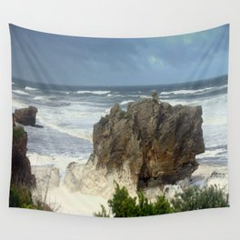 Angry Ocean Wall Tapestry