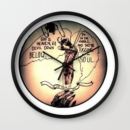 The Hand of God Wall Clock