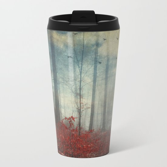 open woodland dreams Metal Travel Mug