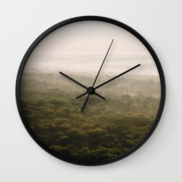 Kentucky from the Air II Wall Clock
