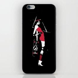 Skater Girl iPhone Skin