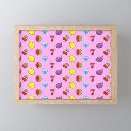 Jackpot Pink Framed Mini Art Print