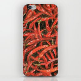 RED HOT CHILLIES iPhone Skin