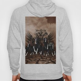 Awesome wild horses Hoody